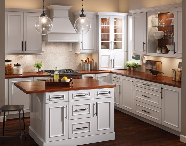 ... KraftMaid Autumn Blush Kitchen ...