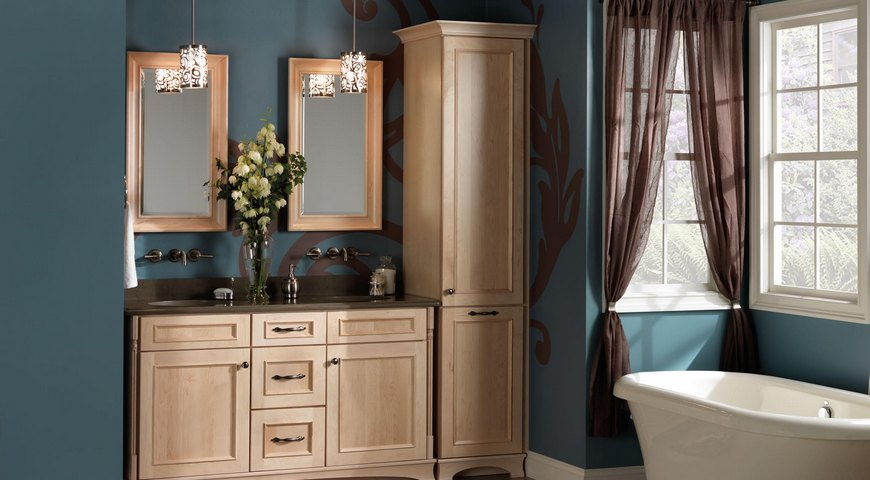Cabinets Auburn Hills  Merillat-Bathrtoom-Vanities