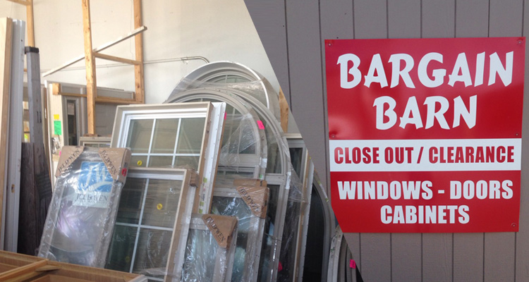 Churchs Lumber sales clearance & Bargain Barn! Discounted and special priced overstock items ...