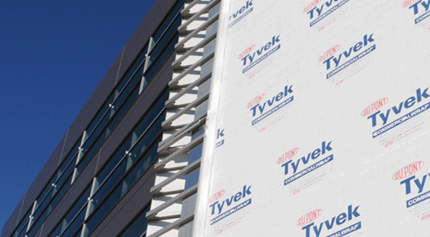 Dupont Tyvek Insulation envelope
