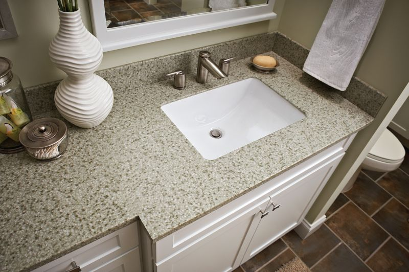 St Tropez Gold Natural Granite Vanity Top With