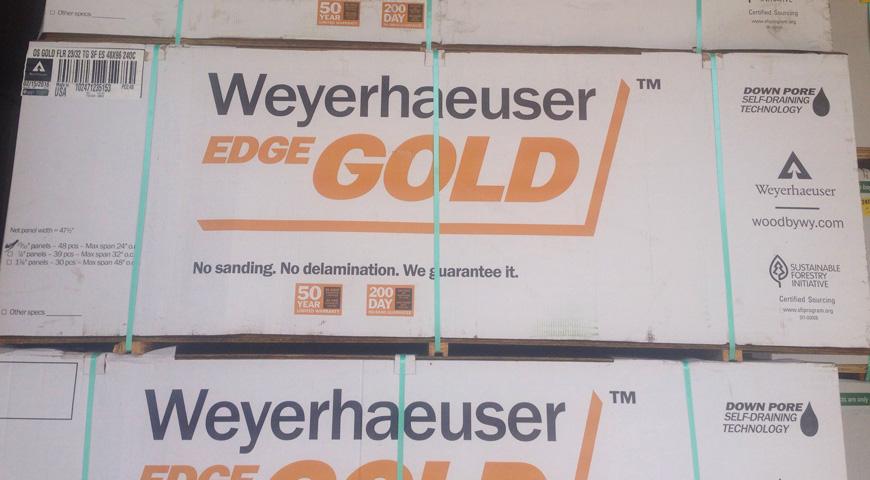 Weyerhaeuser Gold Lumber