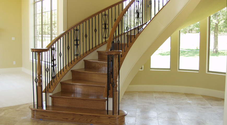 House of Forging Stair Railing