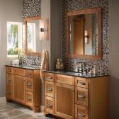 KraftMaid contemporary bathroom